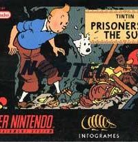 Обложка Adventures of Tintin: Prisoners of the Sun