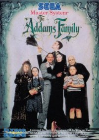 Обложка The Addams Family