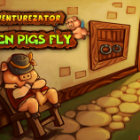 Скриншот Adventurezator: When Pigs Fly