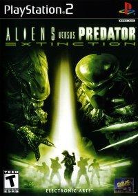 Обложка Aliens Versus Predator: Extinction