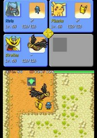 Обложка Pokémon Mystery Dungeon: Explorers of Sky