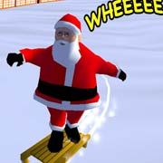 Обложка Downhill Santa