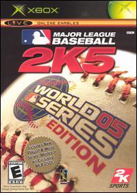 Обложка Major League Baseball 2k5: World Series edition