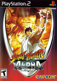 Обложка Street Fighter Alpha Anthology