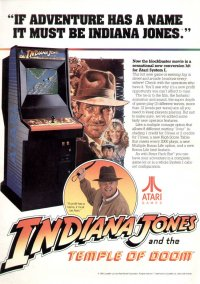 Обложка Indiana Jones and the Temple of Doom