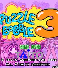 Puzzle Bobble 3 – фото обложки игры
