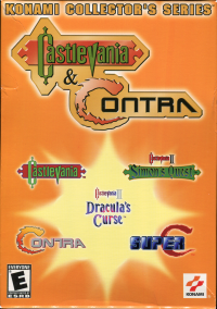 Konami Collector's Series: Castlevania & Contra – фото обложки игры