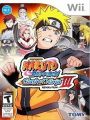 Обложка Naruto Shippuden: Clash of Ninja Revolution 3