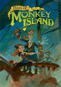 Обложка Tales of Monkey Island