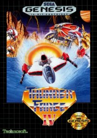 Обложка Thunder Force IV