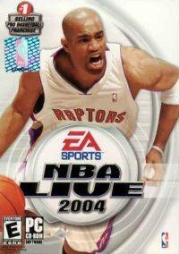 Обложка NBA Live 2004