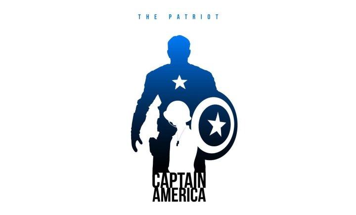 Капитан Америка превращается в качка без помощи турников