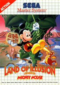 Land of Illusion Starring Mickey Mouse – фото обложки игры