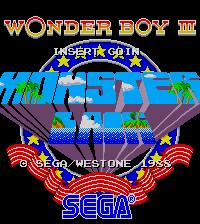 Обложка Wonder Boy III