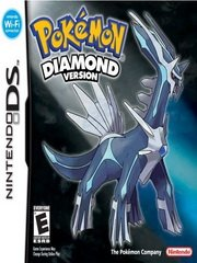 Обложка Pokemon: Diamond Version