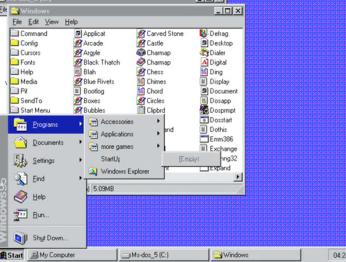 Путь от MS-DOS до Windows 10 за три дня