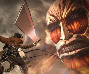 Одинокий боец побеждает толпу великанов в трейлере Attack on Titan