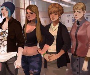Девочки любят девочек в фанатской игре по мотивам Life Is Strange