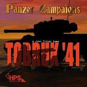 Обложка Panzer Campaigns: Tobruk '41