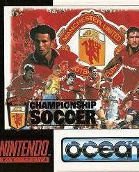 Обложка Manchester United Championship Soccer