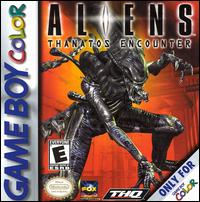 Обложка Aliens: Thanatos Encounter