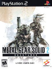 Обложка Metal Gear Solid 2: Substance
