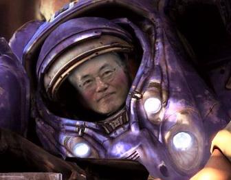 Вборьбе запрезидентское кресло Южной Кореи вход пошел StarCraft