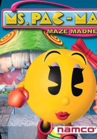 Обложка Ms. Pac-Man Maze Madness