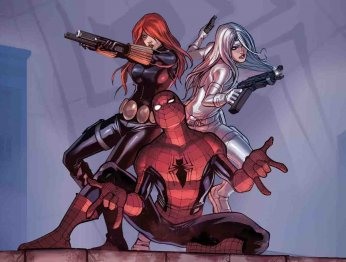 Запущен спин-офф «Человека-паука» о Серебряном соболе и Черной кошке