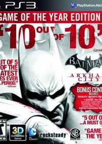 Обложка Batman: Arkham City: Game of the Year Edition