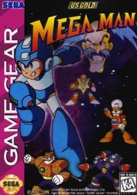 Обложка Mega Man