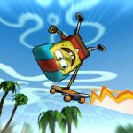 Скриншот SpongeBob's Surf & Skate Roadtrip – Изображение 2