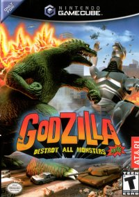 Обложка Godzilla: Destroy All Monsters Melee