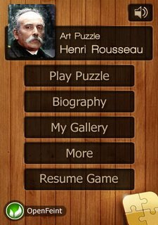 Henri Rousseau Jigsaw Puzzles