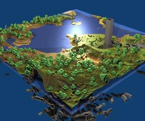 Майнкрафт выйдет на PlayStation 4