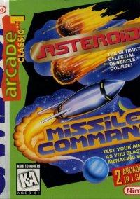 Обложка Arcade Classics 1: Asteroids/Missle Command