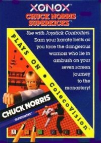 Обложка Chuck Norris Superkicks