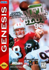 Обложка NFL Quarterback Club '96