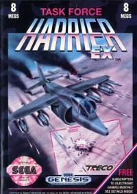 Обложка Task Force Harrier EX