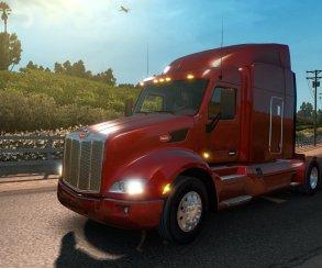 Европейские разработчики щедро делятся американскими грузовиками