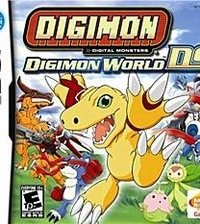 Обложка Digimon World DS