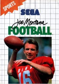 Обложка Joe Montana Football