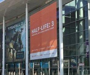 Углавного входа наGamescom появился постер Half Life3