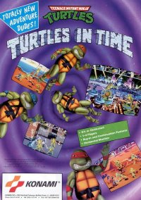 Обложка Teenage Mutant Ninja Turtles: Turtles In Time