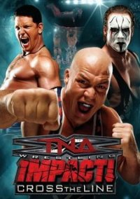 Обложка TNA Impact: Cross the Line