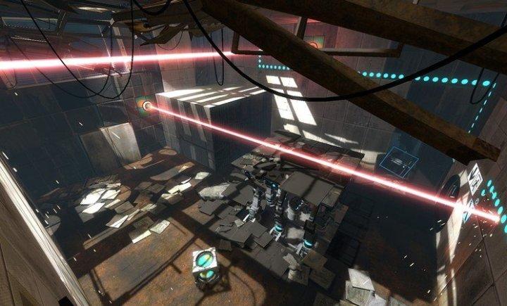 Portal 2. Геймплей. Знакомство с новыми элементами 2 (русские субтитры)