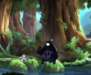 Парочка из Ori and the Blind Forest устроила пикник в видео-прологе