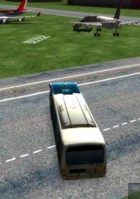 Обложка 3D Airport Bus Parking