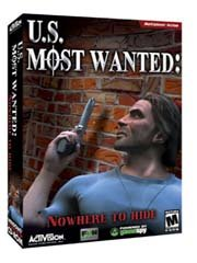 Обложка U.S. Most Wanted: Nowhere to Hide
