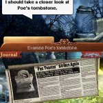 Скриншот Midnight Mysteries: The Edgar Allan Poe Conspiracy – Изображение 5